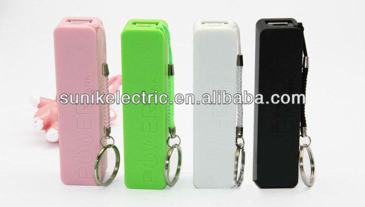 2013 Best Selling fast charging 2600mah lipstick emergency mobile phone charger, mili power bank
