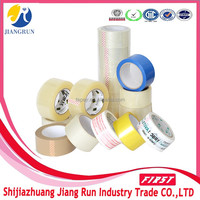 Water Based Acrylic Adhesive Transparent Clear Bopp Packing Tape With Printed Logo