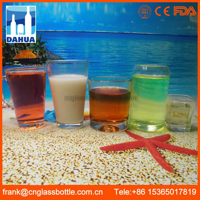 10 years Factory in time reply service colored glassware
