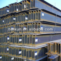 Q235/Q345/Q420/SS400 Welded H beam dimensions for sale