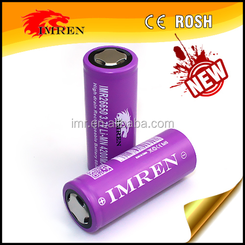 IMREN VAPE BATTERY 26650 4200MAH 60A BATTERY WHOLESALE