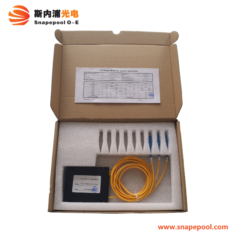1x2 / 4 / 8 / 16 / 32 64 Passive Fiber Optic PLC Splitter Chip