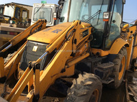 used condition backhoe loader 3CX in shanghai 4CX 3CX Backhoe made in sweden