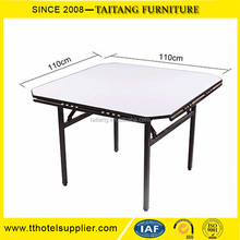Commercial Wedding Event Square Table Wholesale