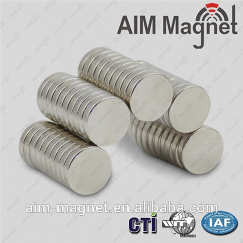 Rare earth disc neodymium strong magnet for photo frame