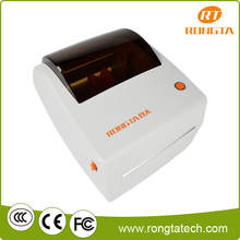 108mm direct thermal barcode label printer with low price to print shipping label