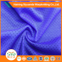 micro 100% polyester tricot fabric netting stretch mesh