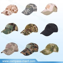 fashion unstructured camo solid detachable patch baseball hats