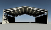 Prefabricated Design Steel Structure Hangar