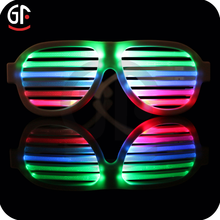 Christmas Gift Items Low Cost Holiday Lighting Reading Glasses Led Sound Activated Promotional Party Sunglasses