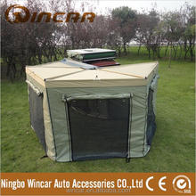 Waterproof Foxwning awning with wall room for camping