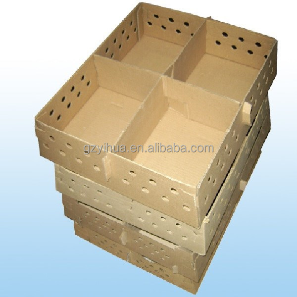 Corrugated cardboard chicken packaging box custom for chicks