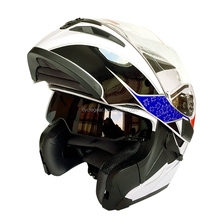 DOT Flip up Motorcycle Helmet Motor Biker Casco S-XXL CG902