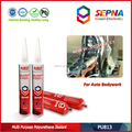 pu adhesive and sealant with permanently elastic for flexible bonding and sealing