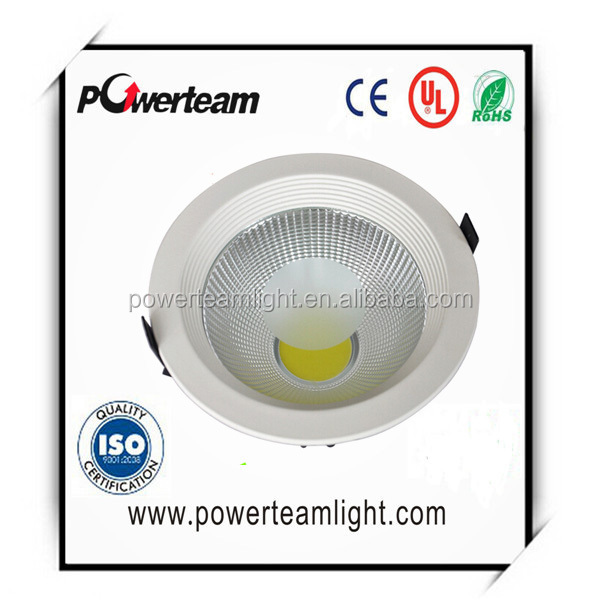 Shenzhen lighting fair downlight with cheap price 3 years warranty led cob downlight leds