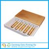 Printed test tube paper packaging packing box with blister