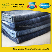 cheap raw material knitted denim fabric whcp-2031