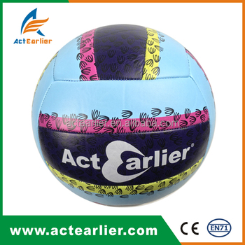 custom printed volleyballs in bulk