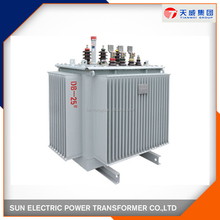 Oil immersed wound core full copper distribution transformers 6.6kv /415v