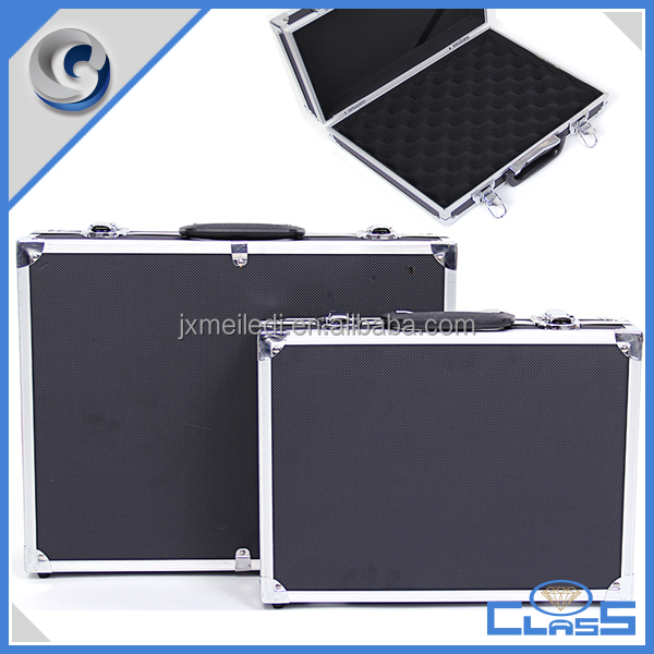 MLDGJ1122 Black simple custom hard aluminum tool case
