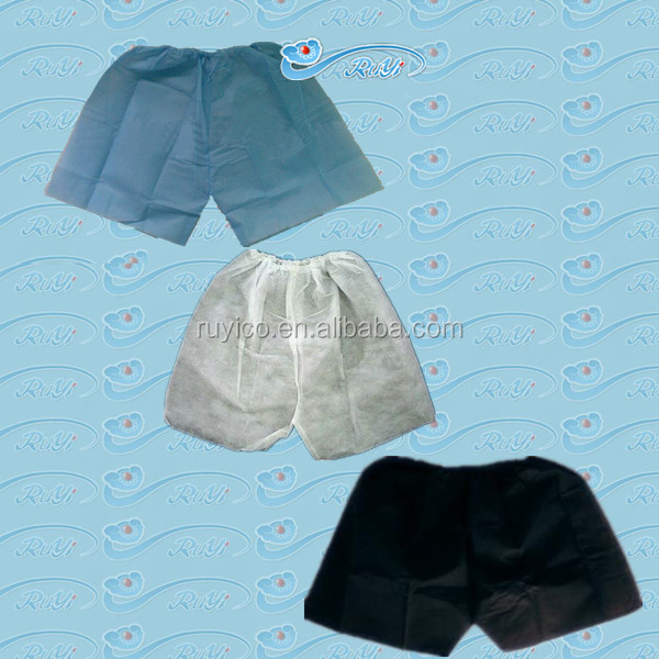 PP boxer/ disposable brief/Nonwoven Man underwear