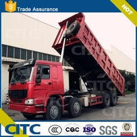 Sino truck cargo box with bpw axle