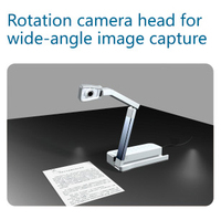 Education equipment HD portable Document camera visualizer