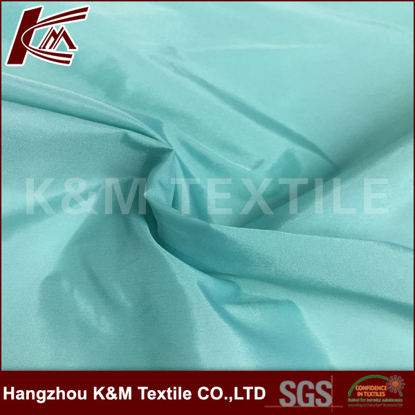 Fabric nylon 310T soft waterproof breathable 100% nylon fabric dyed fabric