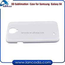 3D sublimation case cover for Samsung Galaxy S4 I9500 case,with 3D printing tool