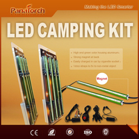 PanaTorch private design car charged with cigarette plug Led magnetic camping strip blister package quickly set up