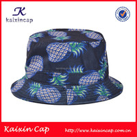 design your own pineapple blank plain fishing bucket hat wholesale