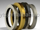 Metal and Mirror Color Extruded Pvc Edge Banding Tape Factory Furniture Fittings