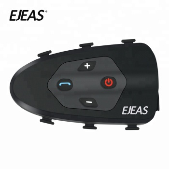 2018 Wholesale bluetooth wireless ear intercom motorcycle earphone