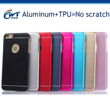 mobile accessory shape tpu metal glitter fashion phone case for iphone6