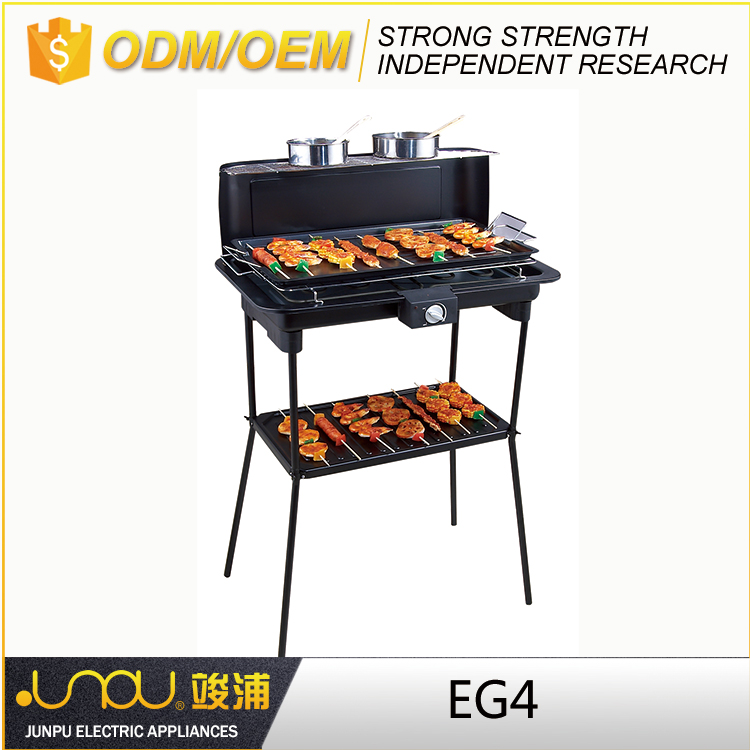 ETL UL APPROVAL easily cleaned professional electric barbecue grill