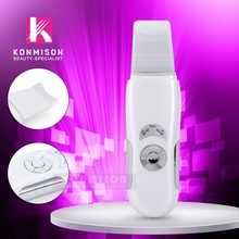 Hand Hold Ultrasonic Face Cleaner/ Microcurrent Ultrasonic Skin Scrubber