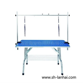 Pet Grooming Folding Table With Arm