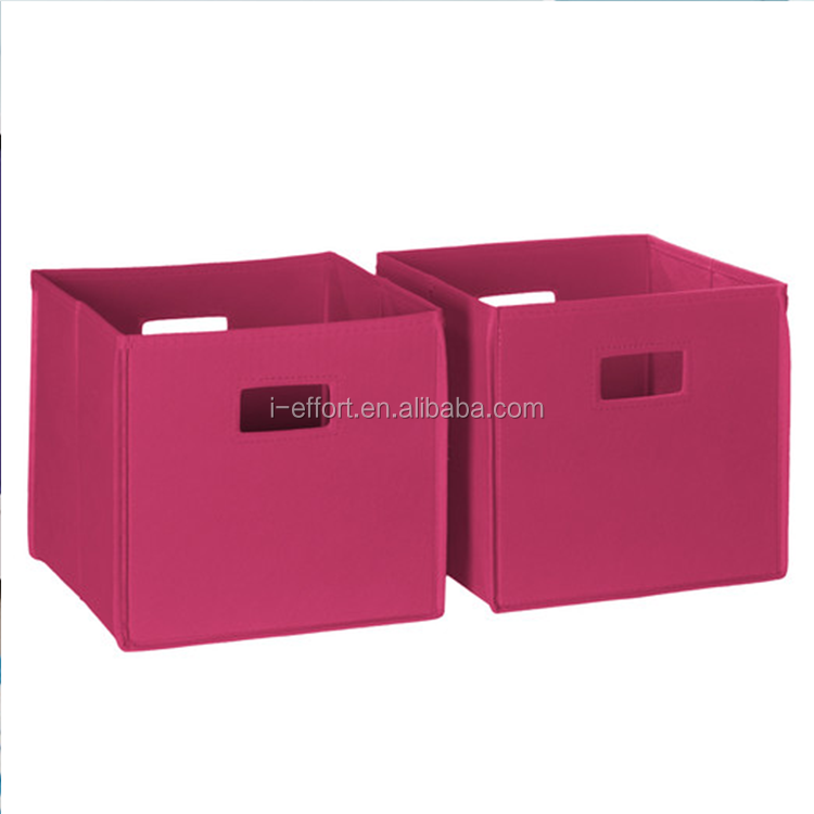 Super Non-woven Fabric Folding Storage Box organizer Pattern Printing