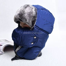 Wholesale Protect Ears LeiFeng cap Warm Winter Fur Hat Unisex Outdoor