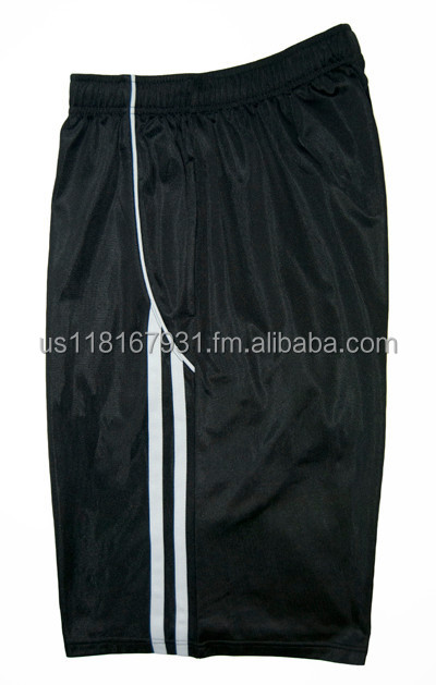 Half Stripe Basketball Shorts