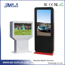 Sunlight readable advertising LCD video wall screen, big outdoor TFT LCD advertising screen