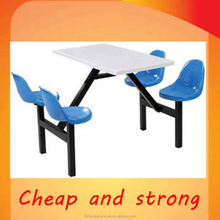 4 person fast food restaurant furniture