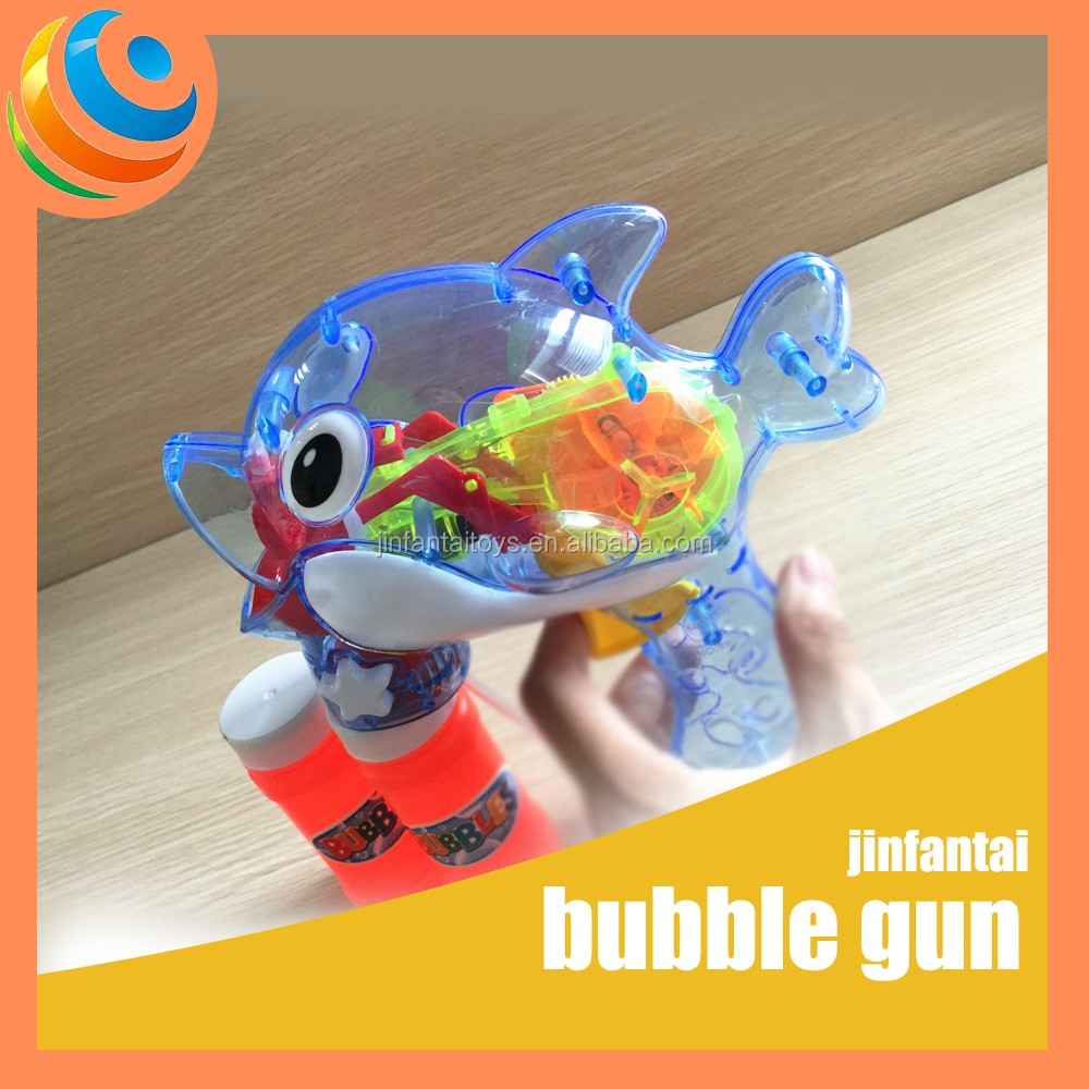 wholesale bubble gun bubble shooter gun toy flash bubble gun
