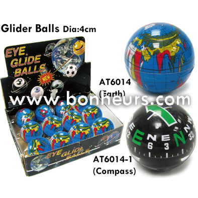 New Novelty Toy Navigation Dashboard Spin Glider Compass Balls