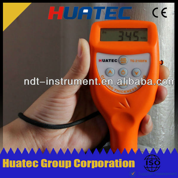 HUATEC New product ultrasonic transducer flow meter, digital thickness tester