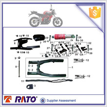 Original factory parts competitive price 200cc motorcycle accessories cuyrope shield clip for UM brand motorbike
