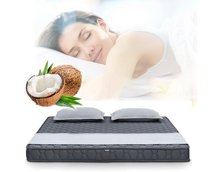 Indian floor natural coconut palm mattress felt coconut husk mattress cotton fabric - Jozy Mattress | Jozy.net