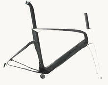 Toray T800 aero carbon road TT bike frame road TT frame BB386