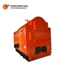 Factory price 3 pass chain grate rice husk steam boiler, thermal power plant