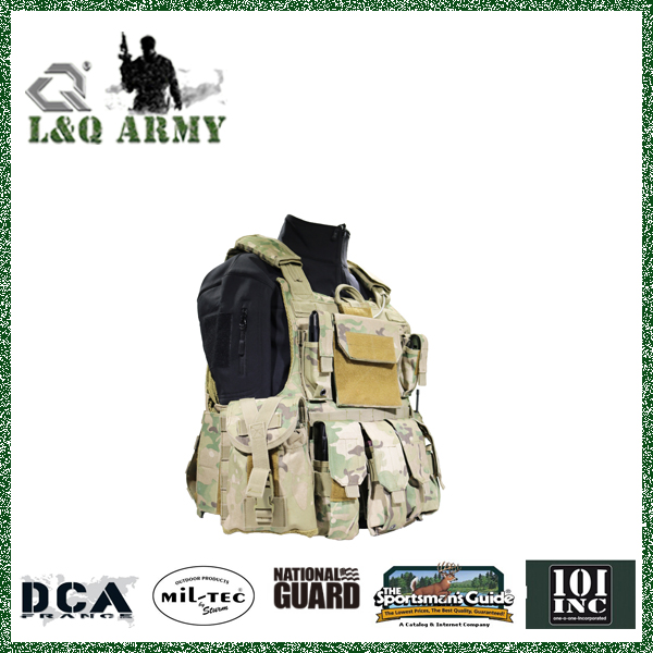 Quick Release tactical vest plate carrier for body armor inserts and plates NIJ IIIA, III or IV